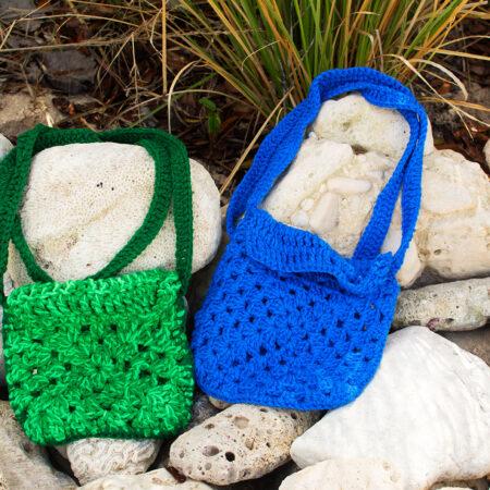 Elaine's - Caribbean Crochet Bags