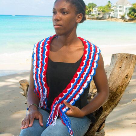 Elaine's - Caribbean Crochet Scarves