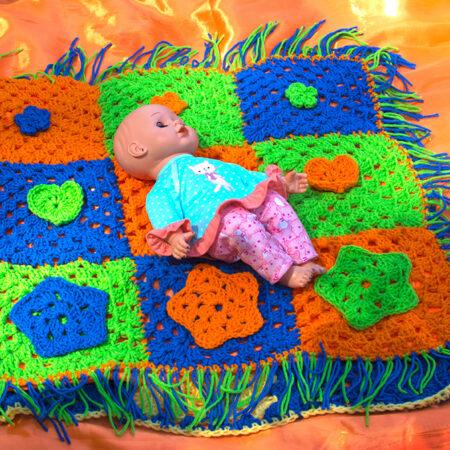 Elaine's - Caribbean Crochet Play Mats